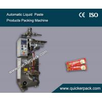 Best Fully Automatic Three Sides Seal Bag Liquid Tomato Ketchup Packaging Machine wholesale