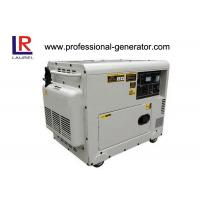 Quality Copper Wire Silent 5kw Diesel Generator AC Single Phase , Small Size Save 8% Freight wholesale