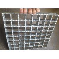 Best Hot Rolled Serrated Steel Grating Galvanized Surface Light Weight wholesale