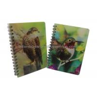 Best Custom A4/A5/A6 3D Lenticular Notebook For Children CMYK Offset Printing wholesale