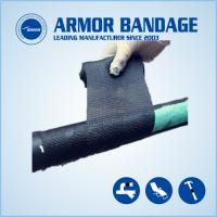 Best High Rigidness Fast Hardening Bandage Emergency Fiberglass Pipe Repair Bandage Cast Armored Tape wholesale