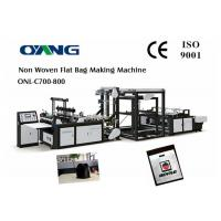 Best Full Automatic Nonwoven Bag Making Machine / Computer Control Bag Forming Machine wholesale