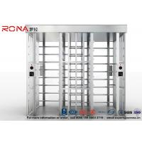 Best Double Passage Controlled Access Turnstile Rapid Identification For Stadium With CE Approved wholesale