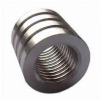 Cheap Carbon steel, nylon, bronze CNC precise machining, cnc lathe machining with PVD for sale