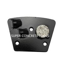 Best 2 PCD Traps With 1 Metal Bond Support Pad For Floor Preparation Mastic Glue Removal Tools wholesale