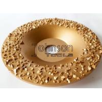 Best Gold Buffing Tungsten Carbide Grinding Disc For Roughing Rubber And Fabric wholesale