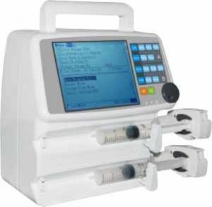Best Portable Clinic Basic electronic infusion pump Double Channel Patient Injection Treatment wholesale