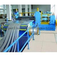 Best Automatic Control Metal Slitting Machine Durable Carbon Steel / Galvanized Coils wholesale