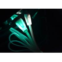 Best 3ft Colorful LED Light Up Charging Cable , Green Light Up Phone Charger Cord wholesale