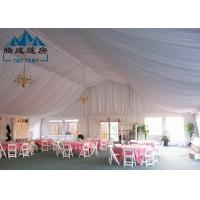 Best All Seasons Outdoor Canopy Tent With Sides , Commercial Event Tents Hot - Dipped Galvanized Steel wholesale