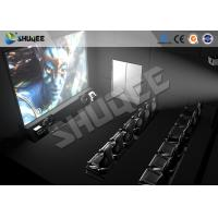 Best High Class Hydraulic / Servo Motor 5D 7D 9D Theater System With True Adventures wholesale