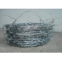 Best 1.5cm - 3cm High Tensile Fencing Barbed Wire 16 * 16 Double Strand For Fence wholesale