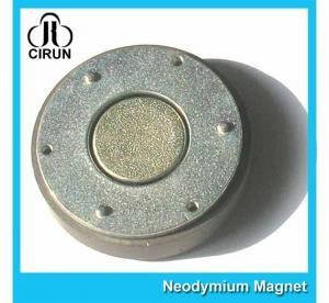 China Small Thin Custom Neodymium Magnets , Strong Round Flat Ndfeb Magnet on sale