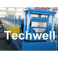 Best 2.5mm Thickness Ridge Cap Roll Forming Machine With Manual, Hydraulic Decoiler wholesale