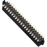 Best WCON Female 1.27 Mm Pin Header Dual Row SMT Pin Header 1.0AMP wholesale