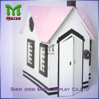 Cheap Customized Printing Cardboard Kids Toys Cat , Dog house / playhouse for sale
