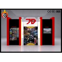 Best Indoor Use 7D Cinema System with Beautiful Cinema Cabin , 7D Theater wholesale