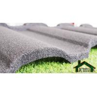 0.38mm - 0.50mm Stone Coated Metal Roof Tile villa building material