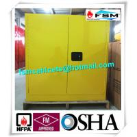 Best 30 GAL Fireproof Hazardous Storage Cabinets For Flammable And Combustible Liquids wholesale