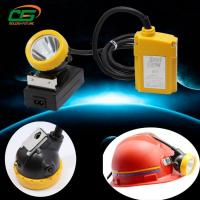China DC4.2V 120 lumens led waterproof ip65 underground cord miners cap headlamp on sale