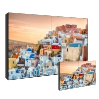 Best POP 3x3 Samsung LCD Video Wall Display 8ms Repond LVDS Signal Interface wholesale