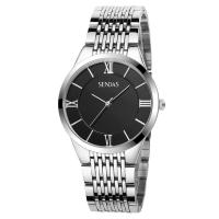 Best China OEM factory men's wrist watch stainless steel back quartz watches wholesale