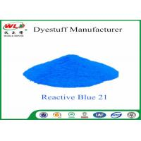 Best C I Reactive Blue 21 Cloth Colour Dye Turquoise Blue SE Chemicals In Dip Dyeing wholesale