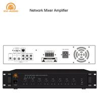 China RH-AUDIO PA System Power Audio Amplifier with IP Network for Office on sale