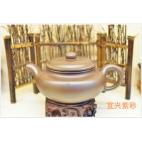Best Catering Antique Brown Yixing Zisha Teapot Handmade 600ml For Drinking wholesale