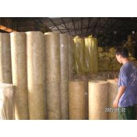 Buy cheap Soundproofing Rockwool Pipe Insulation Material High Density from wholesalers