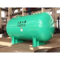 China Horizontal glass lined Chemical storage tank 30000L wih corrosion resistance materials on sale