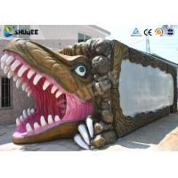 Best New - style Dinosaur Mobile 5D Cinema Cabin For Amusement Park wholesale