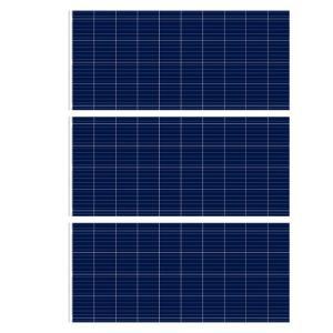 Anodized Aluminium Alloy 265W Solar Polycrystalline Panel