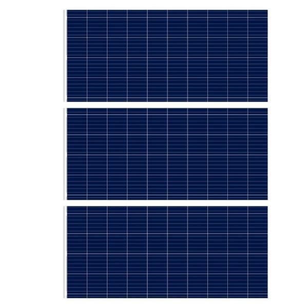 Cheap Anodized Aluminium Alloy 265W Solar Polycrystalline Panel for sale