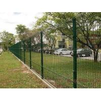 Best Hot Dipped Galvanized / Powder Coated / Welded Wire Mesh Fence 3D Curvy Triangle Bends Fence Direct Factory wholesale