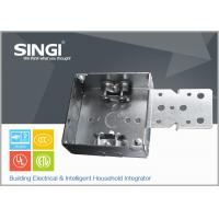 Best Canadian UL hollow out rust - proofing metal outlet box / electrical wiring boxes wholesale