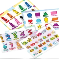 Best LDPE 2mils Disposable Baby Placemats Educational For Kids wholesale