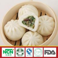 China oriental steamed bread steamed stuffed bun with mushroom and vegetables on sale