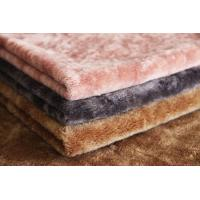 Best Heavy Weight 100% Merino Wool Sheep Shearing Colorful Faux Fur Fabric wholesale