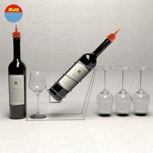China Cool custom vacuum preservation kit funnel silicone cork sealing oil liquor pourer for wine bottles stopper plug on sale