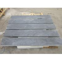 Best Honed Blue Limestone Floor Tiles , Natural Stone Kitchen Wall Tiles 2800 Kg/M3 wholesale