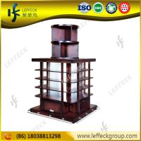 Best Unique design liquor store designs beer display shelving unit in wood material wholesale