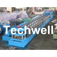 Best 380V, 3 Phase 50Hz Two Wave Guardrail Roll Forming Machine for Highway Guardrail wholesale