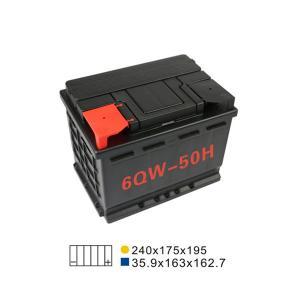 Best 50AH 20HR 6 Qw 50H Lead Acid Car Start Stop Battery Maintenance Free Automotive Battery wholesale