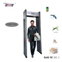 Best High Sensitivity Metal Detector Gate , Single Zone Walk Through Metal Detector wholesale