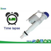 Best Time Lapse Bottom Entry Fill Valve To Save More Water , Sanitary Toilet Float Valve wholesale