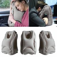 China Woollip Soft Inflatable Air Travel Pillow Neck Suitable for Comfortable Sleep Travel pillow GK-TP01 on sale