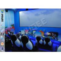Best Customized 5D Movie Theater Equipment With Bubble / Smog Special Effects wholesale