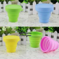 Best Custom Logo Folding Silicone Bottle With various color can be choosed wholesale