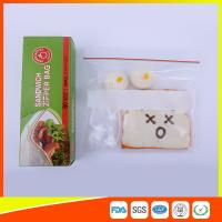 Quality Custom Resealable Plastic Sandwich Bags With Write Panel , Zip Lock Pouch Bags wholesale